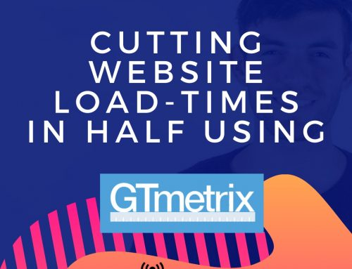 Cutting Website Loading Times In Half