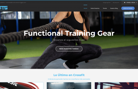 Functional Training Gear Productos de Crossfit